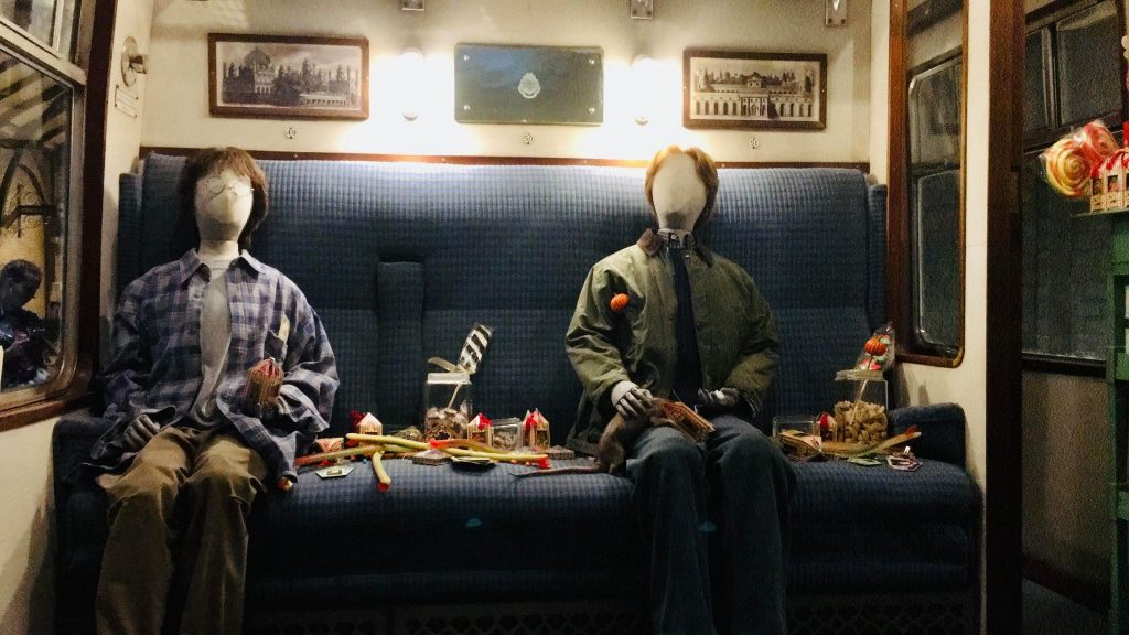 Harry Potter et Ron Weasley - costumes Studios