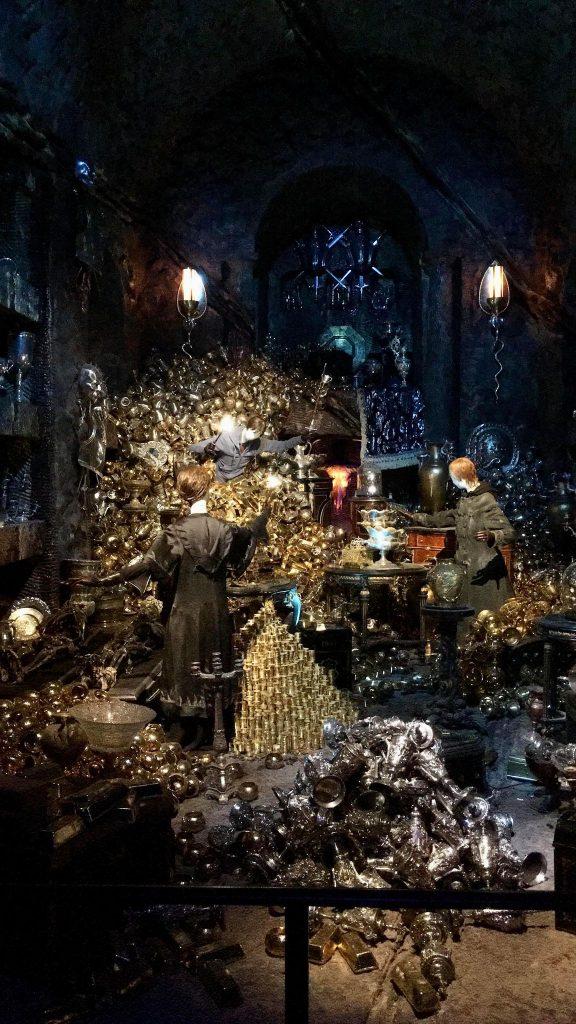 CHambre forte Lestrange - Harry Potter Studios