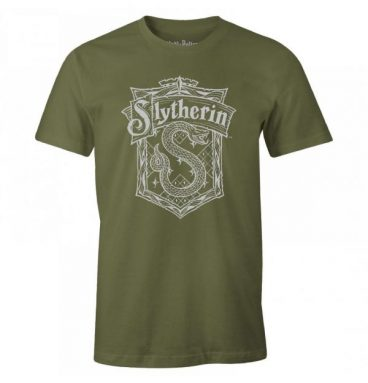 T-Shirt Serpentard - Kaki