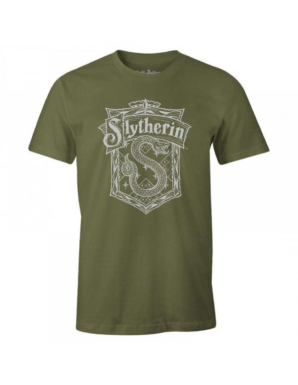 T-Shirt Serpentard - Kaki