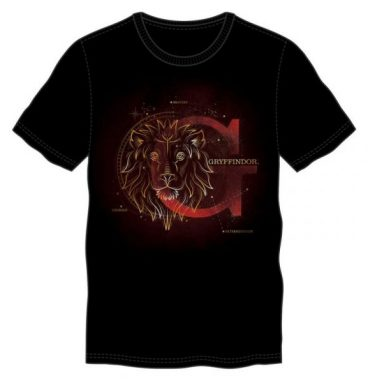 T shirt Gryffondor Phosphorescent