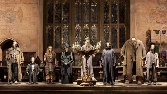 Costumes professeurs Studios Harry Potter