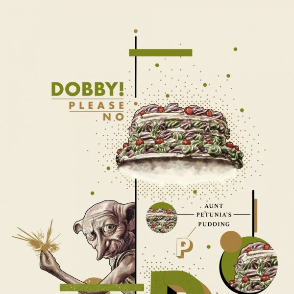 Affiche Dobby 42x19 cm Edition limitée 2001 exemplaires mondial