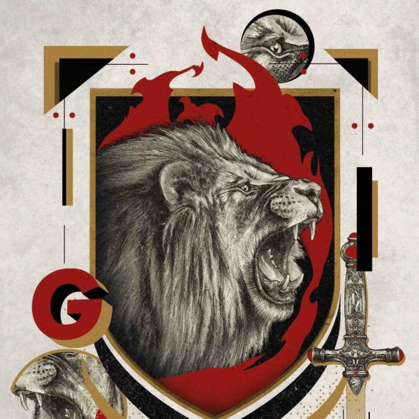 Affiche Gryffondor 36x28