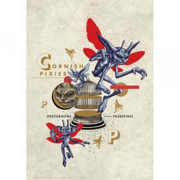 Affiche Pixies 42x19 cm Edition limitée 2001 exemplaires mondial