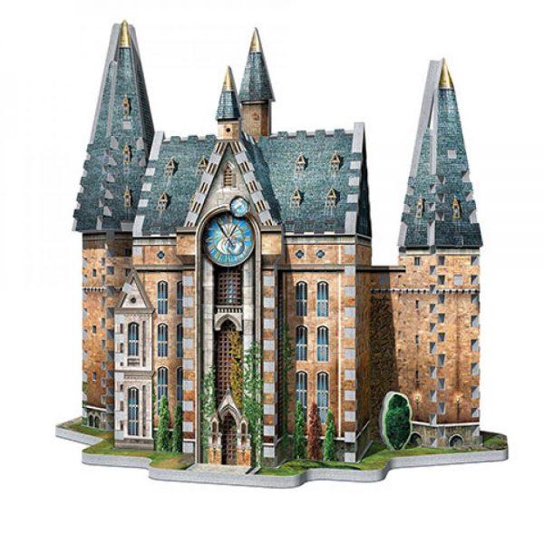 Poudlard - Tour de l'horloge - puzzle 3D Wrebbit