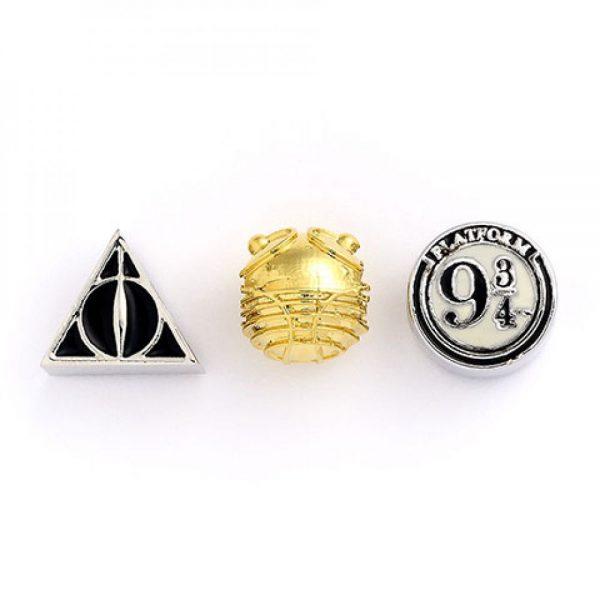 Set de charms Reliques de la mort, vif d'or et plateforme 9 34