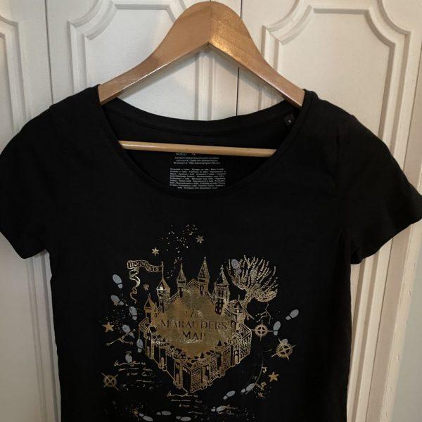 T-Shirt carte du maraudeur doré