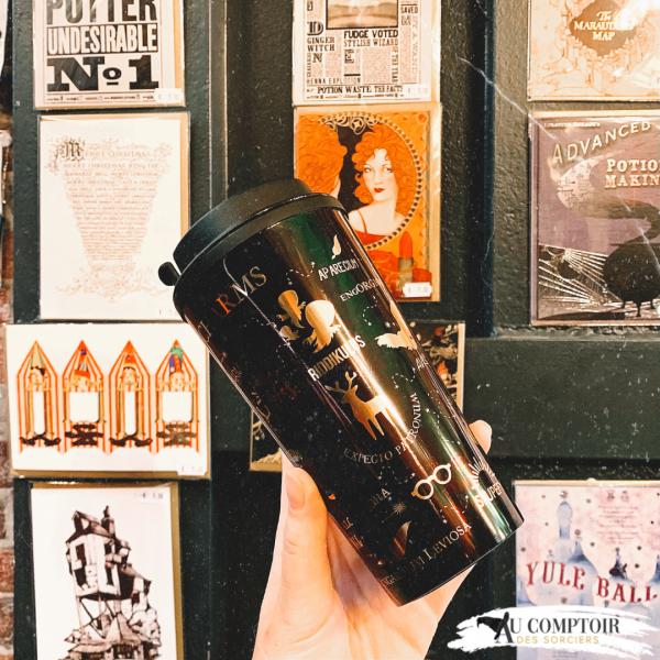 Mug de Voyage Harry Potter Sorts & Charmes