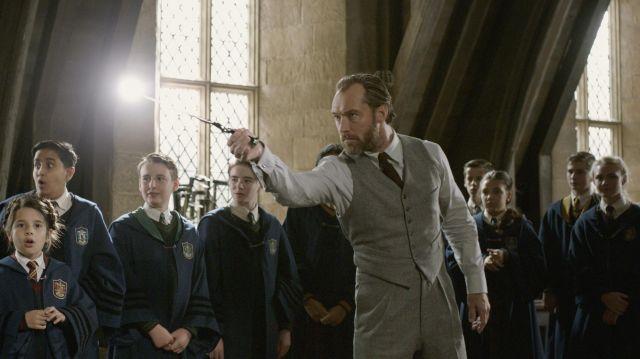 Albus Dumbledore qui enseigne