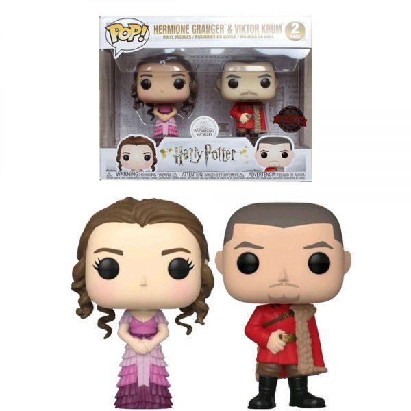 Pop 2-Pack Harry Potter Hermione & Krum Yule