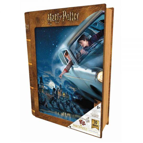 Puzzle Voiture volante Poudlard (300 Pcs)