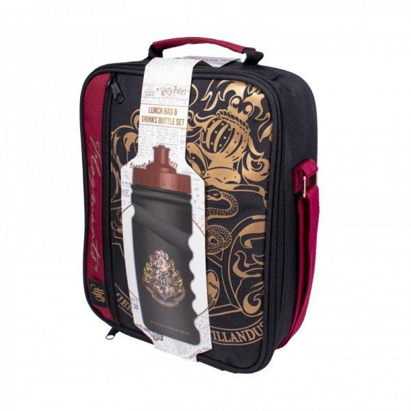Set Poudlard - Lunch Bag & Gourde