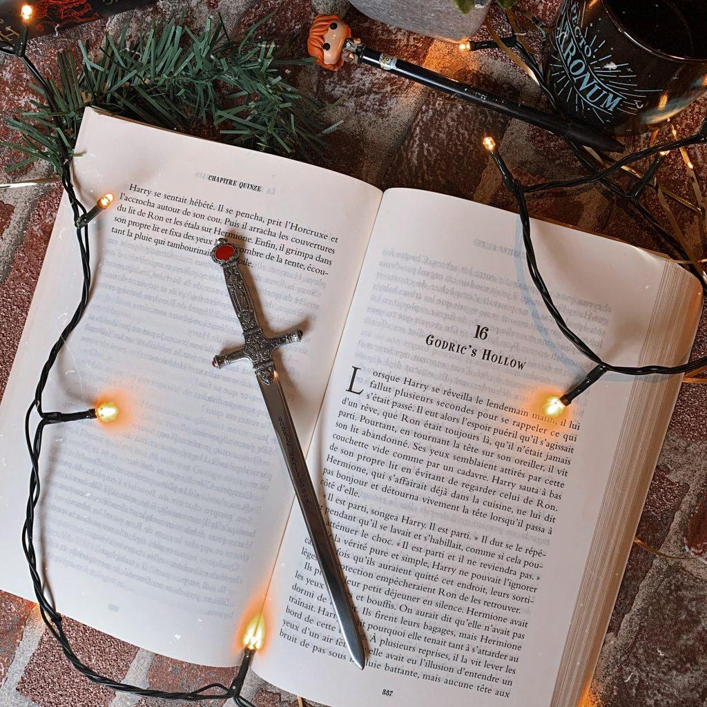 Epée de Gryffondor - produits dérivés Neville Londubat dans Harry Potter