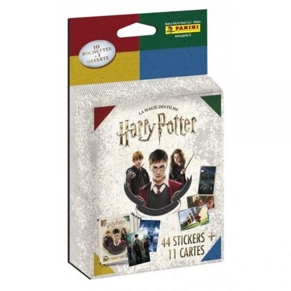 10 pochettes panini - Harry Potter