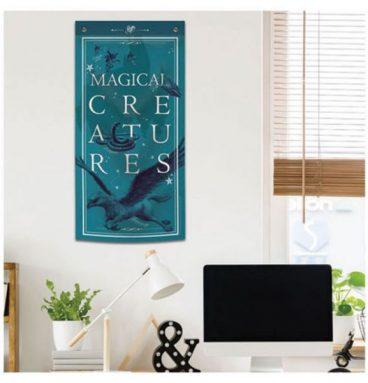 Bannière Magical Créature Bleu