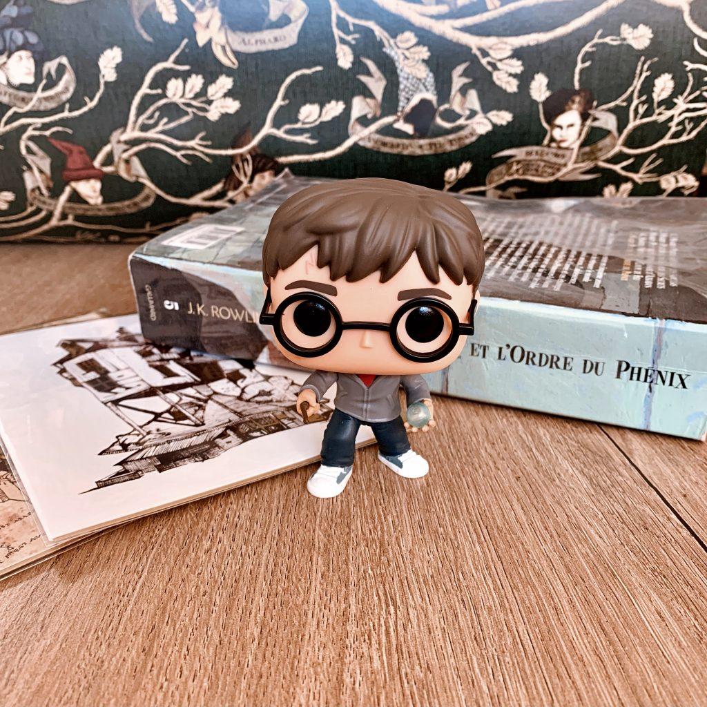 POP Harry Potter avec la prophétie