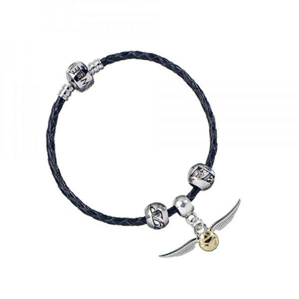 Ensemble Quidditch - Vif d'or-Gardien-Attrapeur et bracelet