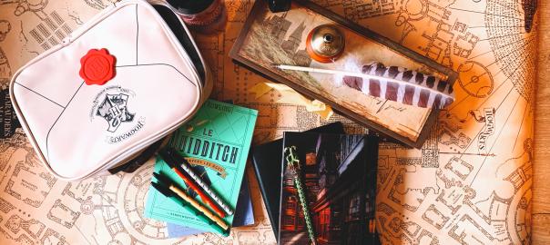Articles de papeterie Harry Potter