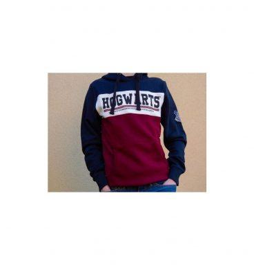 Sweatshirt Poudlard BleuBordeaux