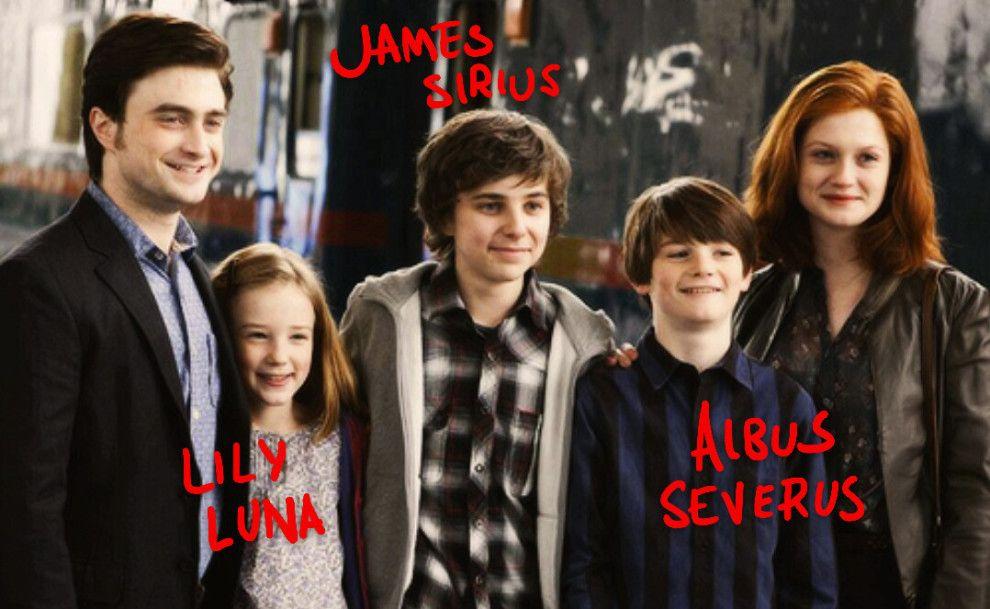 Famille Potter (Bon anniversaire Harry Potter)
