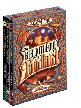 Coffret de la Bibliotheque de Poudlard