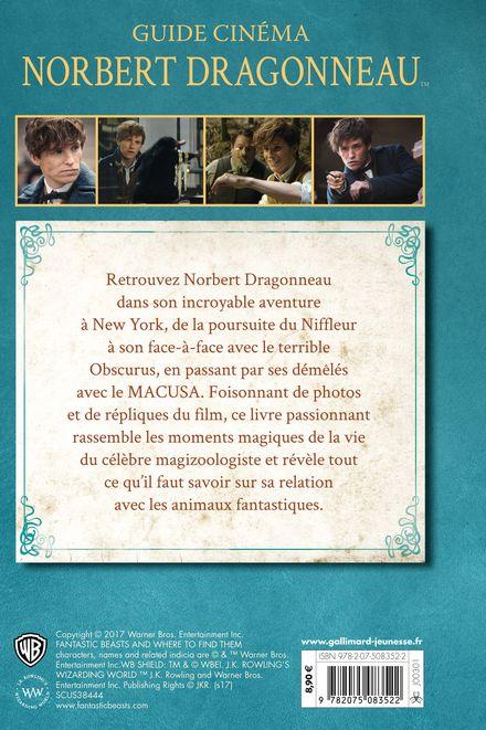 Animaux Fantastiques - Guide Cinema 7 : Norbert Dragonneau livre