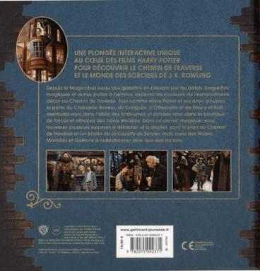 Harry Potter : Le Chemin de Traverse - Le carnet magique
