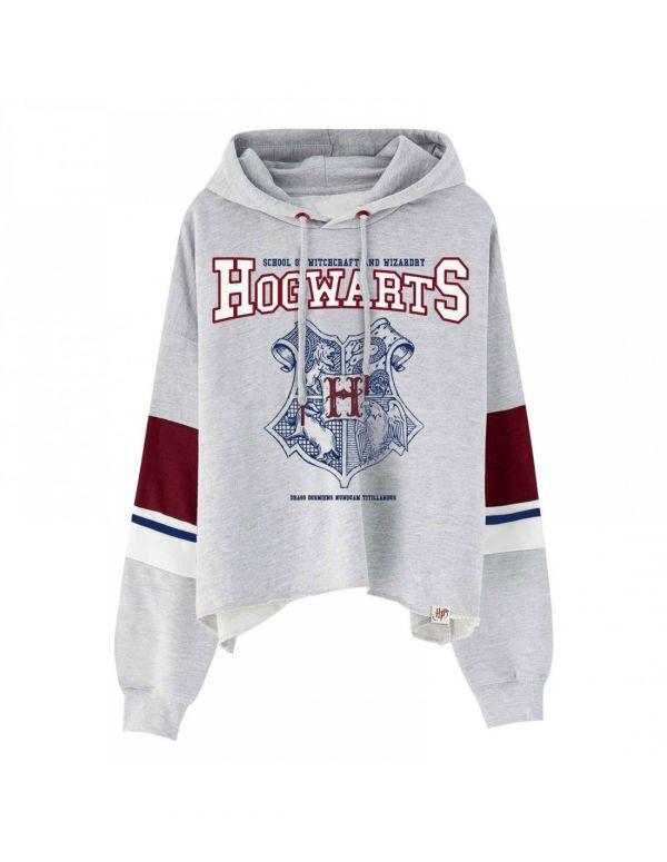 Sweatshirt femme armoirie Hogwarts