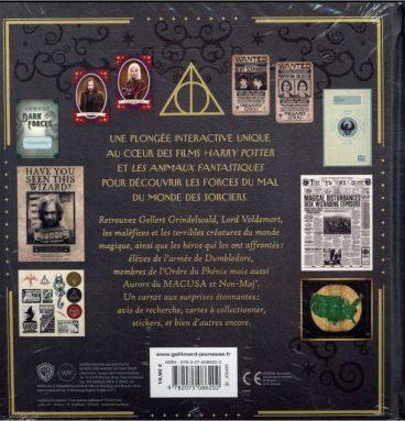Harry Potter/Animaux Fantastiques - Le Carnet Magique 2 : Les Forces Du Mal
